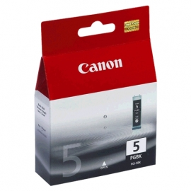 Canon Pgi-5bk Black Ink Cart. Ip4200, Ip5200, Ip5200r, Mp500 Pgi-5bk
