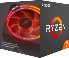 Amd Ryzen 7 3700X 8 Core Am4 Cpu 3.6Ghz 4Mb 65W W/ Wraith Prism Cooler Fan 100-100000071Box