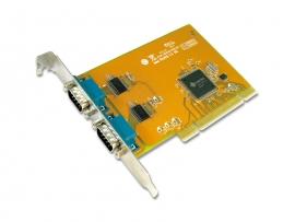 Sunix Ser5037a Dual Port Serial Io Card Pci Card Comcard-2p
