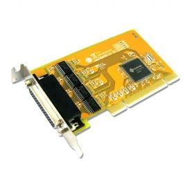 Sunix Ser5056Al Pci 4-Port Serial Rs-232 Card - Low Profile Ser5056Al