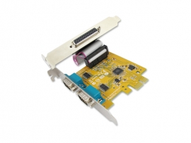 Sunix Mio6479A Pcie 2-Port Serial Rs-232 & 1-Port Parallel Ieee1284 Card Mio6479A