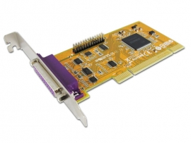 Sunix Parallelieee1284 Card 2-Port Pci Interface Win 7/ 8 Par5018A
