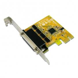 Sunix Ser6456Al Pcie 4-Port Serial Rs-232 Card - Low Profile Ser6456Al
