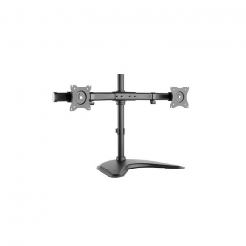 """Brateck Essential Dual Monitor Desktop Stand For 13"""" -27"""" Lcd Monitors And Screens Ldt08-T02"""