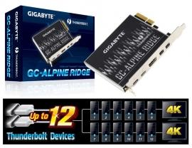 Gigabyte Alpine Ridge Dual Thunderbolt 3 Card For H270 Z270 X 99 Series Mb 3 Ports Usb Type-c 40