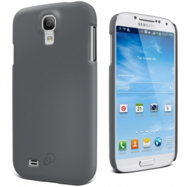 Cygnett Feel Charcoal Case Slim Soft Feel Suit Galaxy S4 Cy1169cxfro