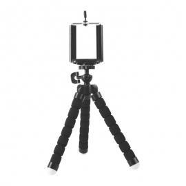 Brateck Universal Flexible Mini Tripod Stand Mount Holder For Gopro Hero Phone Camera R103-bk