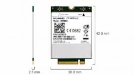 Huawei 4g Lte Int Modem Mu906e 4g Lte For Leadertab W150 W170 Me906e