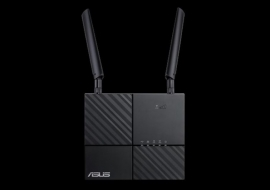 Asus 4g-ac53u Ac750 Dual-band Lte Wi-fi Modem Router Features 4g Lte Category 6 Technology With