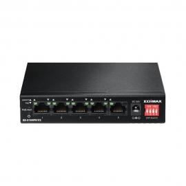 Edimax 5 Ports 10/ 100M Poe+ Switch (4 Poe+ Ports 60W) Fan-Less Es-5104Ph V2