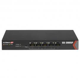 Edimax Long Range 5-port Gigabit Web Managed Switch With 4 Poe+ Ports Gs-3005p