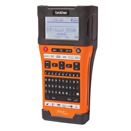 Brother Pt-e550wvp P-touch Labeller - For Electrical Data-telecom And Tradesmen - 3 Year Warranty