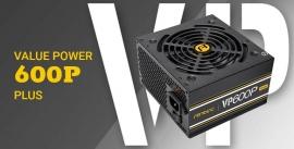 Antec Vp600 Plus 600W Psu. 120Mm Silent Fan Plus 2019 Version. Meps Compliant. 3 Years Warranty