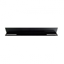 "Linkbasic 19"" L Rail For 600mm Deep Cabinet Only - Black Cfa60-1.2-a"