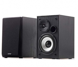 Edifier R980T Powered 2.0 Bookshelf Speakers - Studio-Quality Sound With Dual Rca Input Suitable For Desktops Laptops Tv Record Players And More R980T-Black