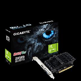 Gigabyte Nvidia Geforce Gt 710 2gb Pcie Video Card Ddr5 4k 2xdisplays Hdmi Dvi Low Profile Heatsink