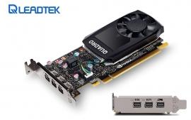 Leadtek Nvidia Quadro P400 Pcie Workstation Card 2gb Ddr5 3xmdp1.4 3x4096x2160@60hz 64-bit 32gb/