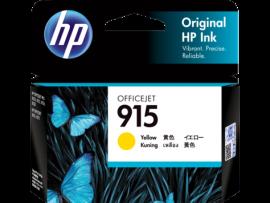 HP 915 Yellow Original Ink Cartridge 3Ym17Aa