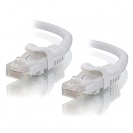 Alogic 0.3m White Cat6 Network Cable C6-0.3-white