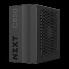 NZXT NP-C650M-AU ATX PSU: 650W, 80 PLUS GOLD, 120mm FAN, 2x CPU (4+4), 4x PCIE (6+2), 8x SATA