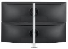 Atdec AWMS-2-LTH75 - Dual Monitor Mount, Curved Monitors, Heavy & Large Displays, All-In-One PCs, Vesa 75 x 75, 100 x 100 (AWMS-2-LTH75-B-KIT)