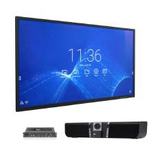 "Nec 75"" Collaboration Board Video Conference Bundle W/ I7 Ops Slot-In Pc With Windows Aver Vb342+ Video Soundbar Usb 4K Uhd Conference Camera Cb751Q + 14665 + Vb342+"