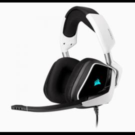 Corsair Void Rgb Elite Usb Premium Gaming Headset With 7.1 Surround Sound White Ca-9011204-Ap