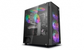 Deepcool MATREXX 55 MESH ADD-RGB 4F Mesh Panel Tempered Glass Case DP-ATX-MATREXX55-MESH-AR-4F