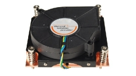 Tgc Chassis Accessory 1U Universal Cpu Active Cooler (Full Copper) For 775/ 1155/ 1366/ 2011 Tgc-1U-U-A