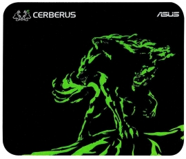 Asus Mouse Mat: Gaming Mouse Pad Mini Size 250*210*2Mm Cerberus-Mat-Mini/Green