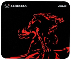 Asus Mouse Mat: Gaming Mouse Pad Mini Size 250*210*2Mm Cerberus-Mat-Mini/Red