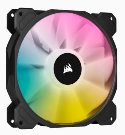 Corsair SP140 RGB ELITE, 140mm RGB LED Fan with AirGuide, Single Pack CO-9050110-WW