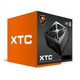 Cougar XTC600 PSU: 600W 80+ Power Supply (XTC600)
