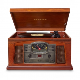 Crosley Lancaster Turntable With Bluetooth (in) - Paprika Cr42d-pa
