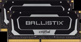 Crucial Ballistix 32GB Kit (16GBx2) DDR4 NOTEBOOK MEMORY, PC4-25600, 3200MHz, LIFE WTY, BLACK BL2K16G32C16S4B
