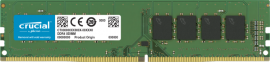 CRUCIAL 16GB DDR4 DESKTOP MEMORY, PC4-21300, 2666MHz, UNRANKED, LIFE WTY CT16G4DFRA266
