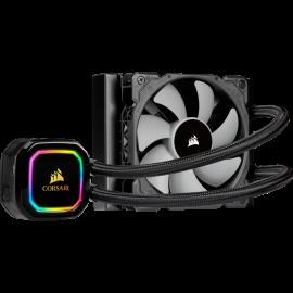 CORSAIR iCUE H60i RGB PRO XT Liquid CPU Cooler, 120mm Radiator, Single 120mm PWM Fan, Software Control, Liquid CPU Cooler (CW-9060049-WW)