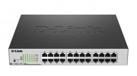 D-link 24-port Gigabit Easysmart Poe Switch With 12 Poe Ports Dgs-1100-24p