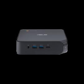 ASUS Chromebox 4 - i3-10110U, 8GB DDR4, 128GB M.2 SSD, 5 x USB 3.1, 1 x USB-C, 2 x HDMI 2.0, 1 x RJ45, Integrated GPU, WiFi AX201, BT 5.0, NO KBM; 1YR OSS (90MS0252-M00280)