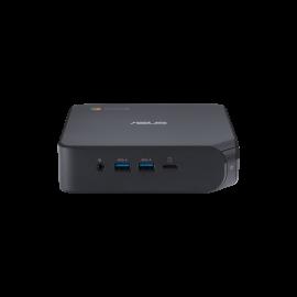 Asus Chromebox 4 - CEL-5205U, 4GB DDR4, 64GB eMMC, 3xUSB 3.1, 2xUSB 2.0, 1xUSB-C, 2xHDMI 2.0, 1xRJ45, Integrated GPU, WiFi AX201, BT 5.0, NO KBM; 1YR OSS (90MS0252-M00110)