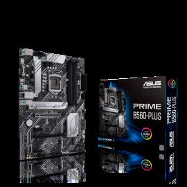 Asus PRIME B560-PLUS MB B560 ATX: Socket 1200 For Intel 11th/10th Gen. Processors Dual Channel DDR4,
