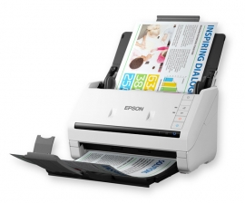 Epson Workforce Ds-570w 35ppm/ 70ipm Scan To Cloud/ Pdf 50sht Adf Wireless Ocr Optional Network + Flatbed B11b228501