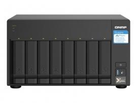 QNAP 8-BAY NAS (NO DISK) ALPINE QC 1.7GHz, 4GB, 2.5GbE(2), 10GbE SFP+(2), TWR, 2YR WTY TS-832PX-4G