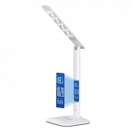 Simplecom EL808 LED Desk Dimmable Touch Control Multifunction 4W with Digital Clock