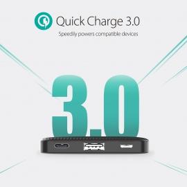Ravpower Rp-Pb094 Super Slim Power Bank 10000Mah Pd 18W Qc3.0 Eleravpb094