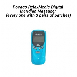 Rocago Relaxmedic Digital Meridian Massager (every One With 3 Pairs Of Patches)  Elerocmm-811