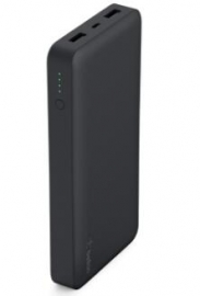 Belkin Pocket Power Bank 15 000mah Usb (2) Mirco Usb (1) Black 2yr Wty F7u021btblk