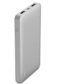 Belkin Pocket Power Bank 10000 Mah Usb A (2) Mirco Usb (1) Silver F7U039Btslv
