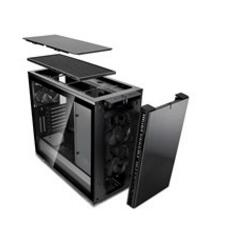 Fractal Design Define R6 Blackout Tempered Glass Usb-c Fd-ca-def-r6c-bko-tgl