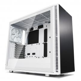 Fractal Design Define S2 White Glass Clear Fd-ca-def-s2-wt-tgc